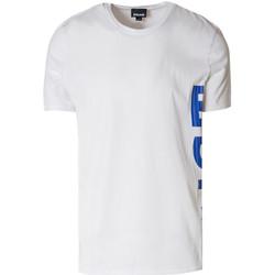 textil Hombre Camisetas manga corta Roberto Cavalli S03GC0530 Bianco