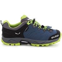 Zapatos Niños Senderismo Salewa JR Mtn Trainer Azul marino
