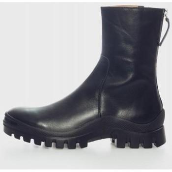 Zapatos Mujer Botines Angel Alarcon 21613 Negro