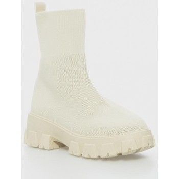 Zapatos Mujer Botines Kamome Trends 1308 Beige