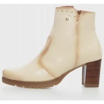 Zapatos Mujer Botines Kamome LEURY2 Beige