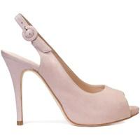 Zapatos Mujer Sandalias Gennia Sandalias Destalonadas Maquillaje Tacon Alto Plataforma -CAMILA Nude