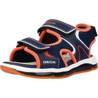 Zapatos Niño Sandalias de deporte Geox B SANDAL TODO BOY A Azul