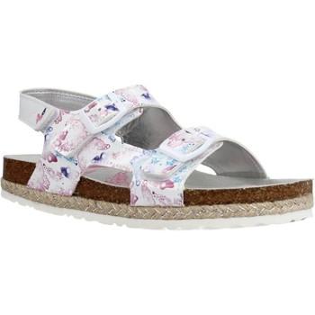 Zapatos Niña Sandalias Asso AG11012 Blanco