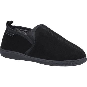 Zapatos Hombre Pantuflas Hush puppies  Negro