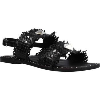 Zapatos Mujer Sandalias Café Noir FRATE IN PELLE INT Negro