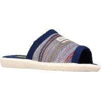 Zapatos Hombre Pantuflas Nordikas 1511B Azul