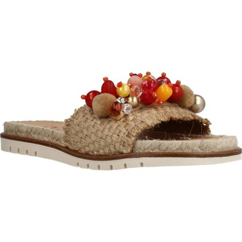 Zapatos Mujer Sandalias Porronet 2758P Beige