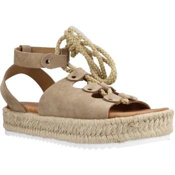 Zapatos Mujer Alpargatas Porronet 2763P Marron