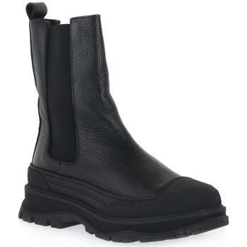 Zapatos Hombre Botas de caña baja At Go GO DOLLARO NERO Nero