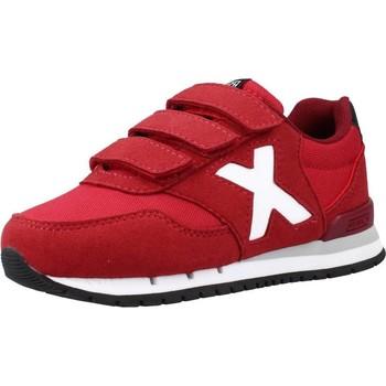Zapatos Niño Zapatillas bajas Munich DASH KID VCO 106 Rojo