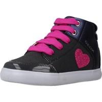 Zapatos Niña Botas Geox B GISLI GIRL Azul