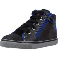 Zapatos Niño Botas Geox B KILWI BOY Azul