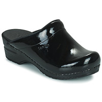 Zapatos Mujer Zuecos (Clogs) Sanita SONJA OPEN Negro