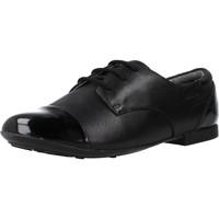 Zapatos Niña Derbie Geox JR PLIE' Negro