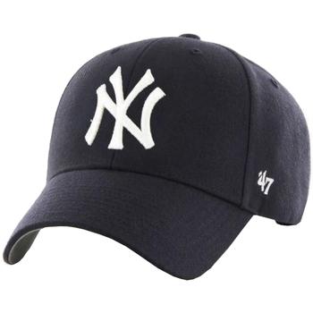 Accesorios textil Hombre Gorra 47 Brand MLB New York Yankees Cap Bleu marine