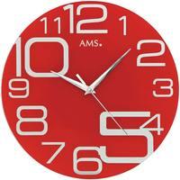 Casa Relojes Ams 9462, Quartz, Red, Analogue, Modern Rojo