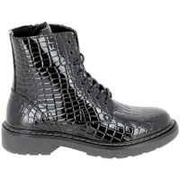 Zapatos Mujer Botas de caña baja Bullboxer Lacet BLCCKB10 Noir Negro