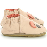 Zapatos Niños Pantuflas para bebé Robeez Nice Panda Rosa claro