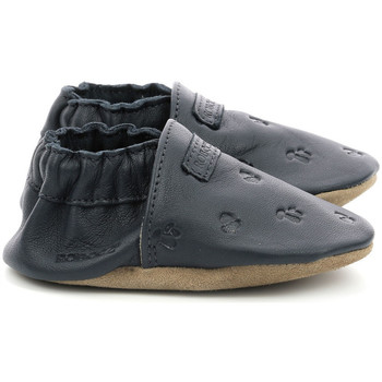Zapatos Niños Pantuflas para bebé Robeez Mywood Azul Marino