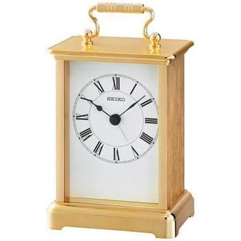 Casa Relojes Seiko QHE093G, Quartz, White, Analogue, Classic Blanco