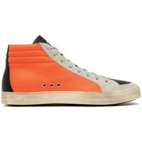 Zapatos Hombre Zapatillas altas P448 SKATE-ORANGE ARANCIONE