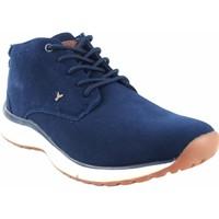 Zapatos Hombre Botas de caña baja Yumas Botín caballero  canada azul Azul