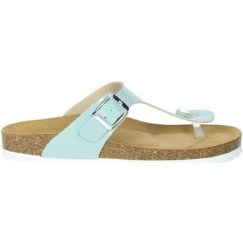 Zapatos Mujer Chanclas Novaflex FEISOGLIO Agua Verde
