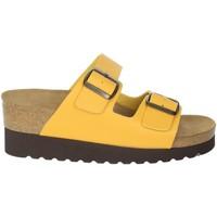 Zapatos Mujer Zuecos (Mules) Novaflex BRANDICO Mostaza