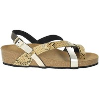 Zapatos Mujer Sandalias Novaflex BOZZOLE Platino