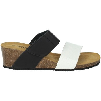 Zapatos Mujer Zuecos (Mules) Novaflex BISUSCHIO Blanco/Negro
