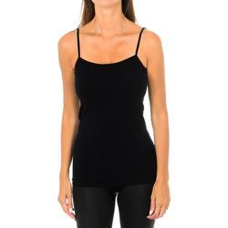 Ropa interior Mujer Camiseta interior Intimidea Camiseta Tirantes Fino Virginia Negro