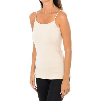 Ropa interior Mujer Camiseta interior Intimidea Camiseta Tirantes Fino Virginia Marrón