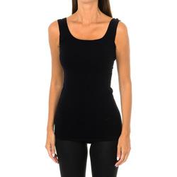 Ropa interior Mujer Camiseta interior Intimidea Camiseta Tirantes Empire Negro
