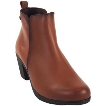 Zapatos Mujer Botines Pepe Menargues Botín señora  20460 cuero Marrón