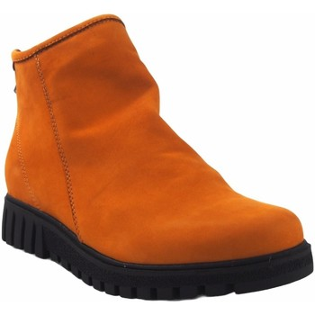 Zapatos Mujer Botas de caña baja Pepe Menargues Botín señora  20040 tostado Amarillo