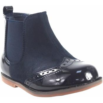 Zapatos Niña Botas de caña baja Bubble Bobble Botín niña  a1775 azul Azul