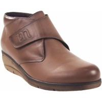 Zapatos Mujer Botas de caña baja Pepe Menargues Botín señora  20662 taupe Marrón
