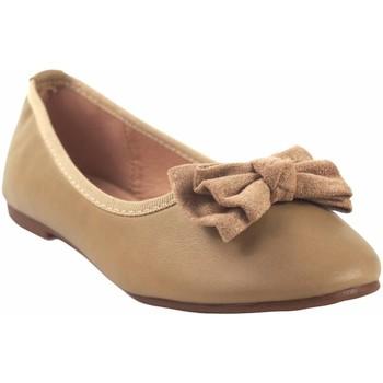 Zapatos Niña Bailarinas-manoletinas Bubble Bobble Zapato niña  a2702 beig Marrón
