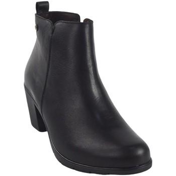 Zapatos Mujer Botas de caña baja Pepe Menargues Botín señora  20460 negro Negro