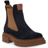 Zapatos Mujer Botines Priv Lab 130C BLU CAMOSCIO Blu