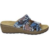 Zapatos Mujer Zuecos (Mules) Novaflex FORESTO Azul