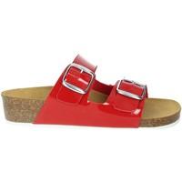 Zapatos Mujer Zuecos (Mules) Novaflex FARINDOLA Rojo