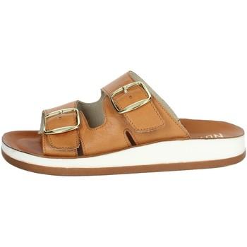 Zapatos Mujer Zuecos (Mules) Novaflex FALOPPIO Marrón cuero