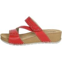 Zapatos Mujer Zuecos (Mules) Novaflex FALERONE Rojo
