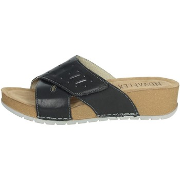 Zapatos Mujer Zuecos (Mules) Novaflex FALERNA Negro