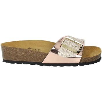 Zapatos Mujer Zuecos (Mules) Novaflex BISEGNA Rosa polvo