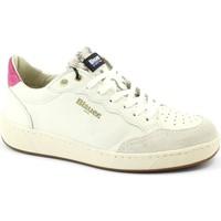Zapatos Mujer Zapatillas bajas Blauer BLA-I21-OLYMPIA01-LEP Bianco