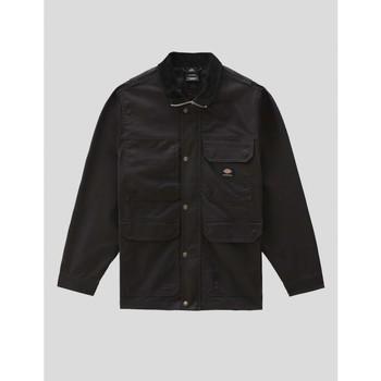 textil Hombre Abrigos Dickies CHAQUETA  STORDEN JACKET BLACK Negro