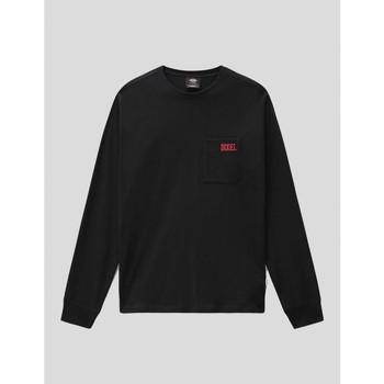 textil Hombre Camisetas manga larga Dickies CAMISETA  STORDEN LS TEE BLACK Negro